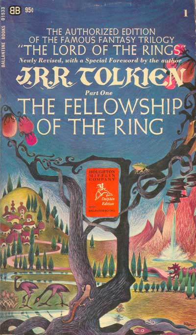 Tolkien Collector S Guide Collectors Guide Fellowship Of The Ring Barbara Remington Cover