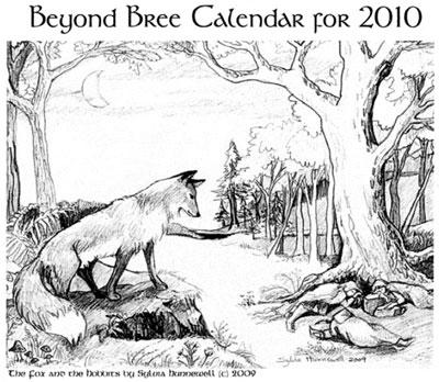 Beyond Bree 2010 Calendar