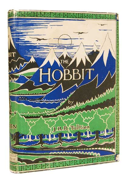 Signed first edition Hobbit