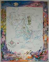 Barbara Remington's Middle-earth Mural