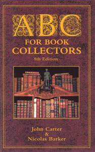 Carter's ABC for Book Collectors