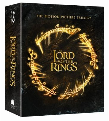 Lord of the Rings Blu-ray box