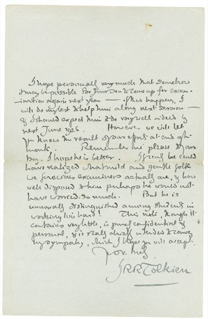 Handwritten letter from June 12th, 1925 Page 2