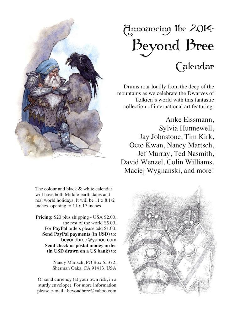 Beyond Bree 2014 Calendar Announcement