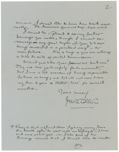 Doris Sykes Tolkien Signed Letter Page 3