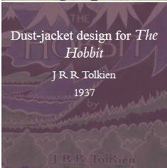 Dust-jacket design for the Hobbit