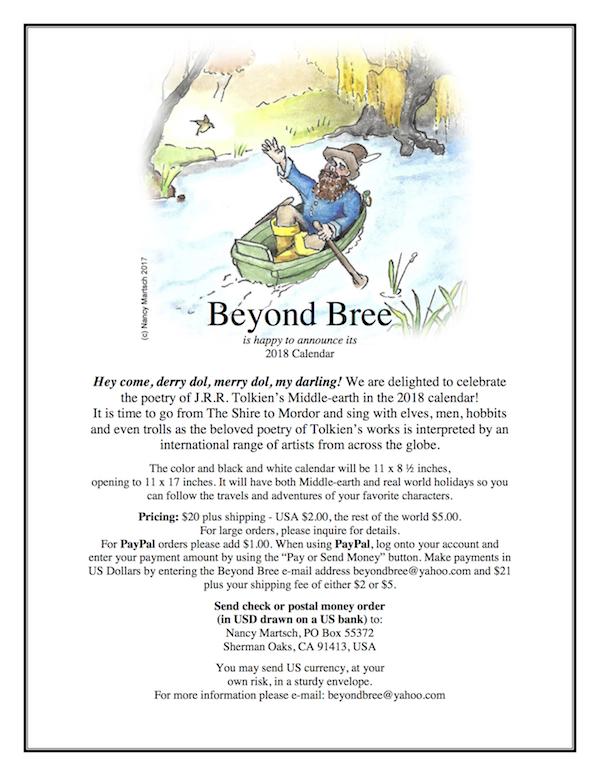 2018 Beyond Bree Calendar